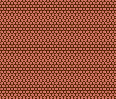 cherry dots fabric by cindylindgren on Spoonflower - custom fabric