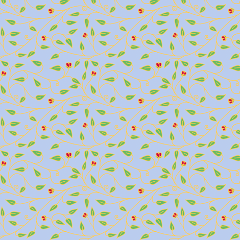 tiny_cloisionne_vines fabric by victorialasher on Spoonflower - custom fabric