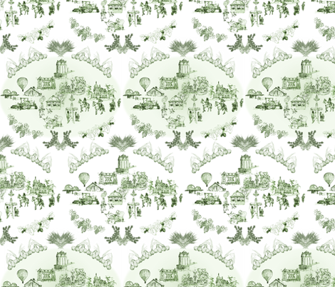 toilewalla fabric by atomic_bloom on Spoonflower - custom fabric