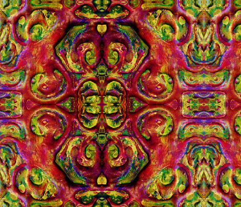 The Dancer fabric by neverlosehope on Spoonflower - custom fabric