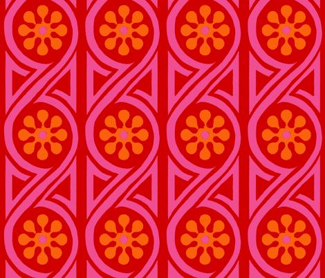 mod romance fabric by keweenawchris on Spoonflower - custom fabric