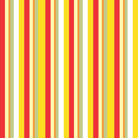 Summer Sun Stripes fabric by julistyle on Spoonflower - custom fabric