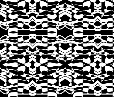 Blocky 12 fabric by animotaxis on Spoonflower - custom fabric