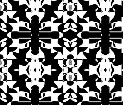 Blocky 14 fabric by animotaxis on Spoonflower - custom fabric