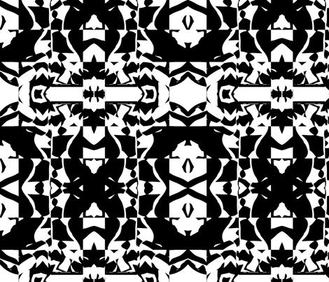Blocky 18 fabric by animotaxis on Spoonflower - custom fabric