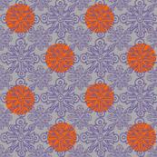 Cross No. 69 with Orange Dots