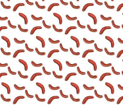 Sausage sizzle fabric by jexico on Spoonflower - custom fabric