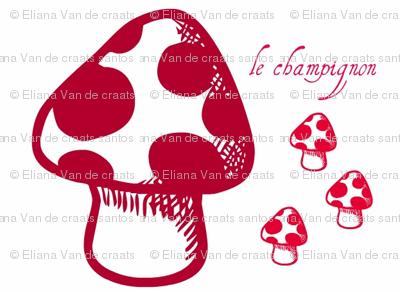 le_champignon_rouge_by_evandecraats