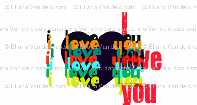 I love you by evandecraats march 28, 2012