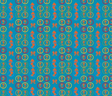 GabeTheSeahorse fabric by jettsetter on Spoonflower - custom fabric