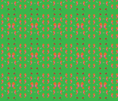 GabbyTheSeahorse fabric by jettsetter on Spoonflower - custom fabric