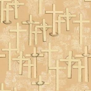 Crosses, Crowns & Linen_218_177_120_cream