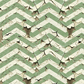 peeling_chevrons_green