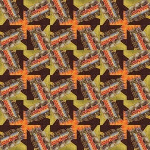 Space Squares Houndstooth