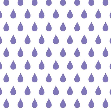 Rainy Days (violet) fabric by pattyryboltdesigns on Spoonflower - custom fabric