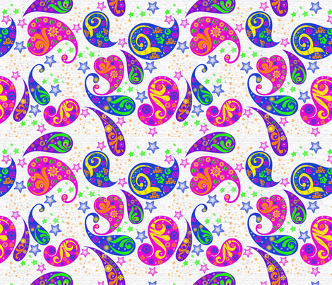 Stars Of Fun fabric by dancingwithfabric on Spoonflower - custom fabric