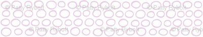 Wobbly Peas (lilac & white)