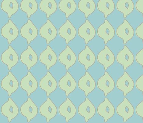 doodle dot (deep aqua, sea glass green & deep stone) fabric by pattyryboltdesigns on Spoonflower - custom fabric