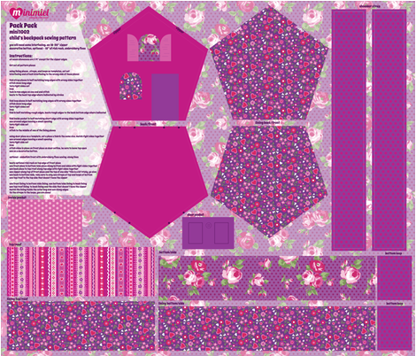 packpack fabric by minimiel on Spoonflower - custom fabric
