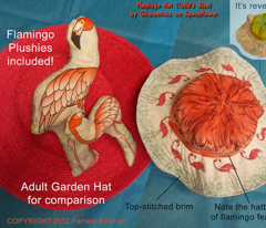 Flamingo Hat - Child Size