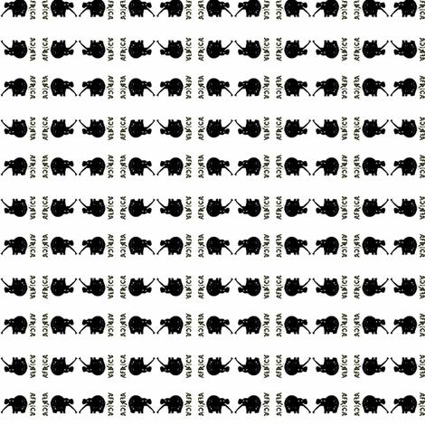 Africa by evandecraats march 28, 2012 fabric by _vandecraats on Spoonflower - custom fabric