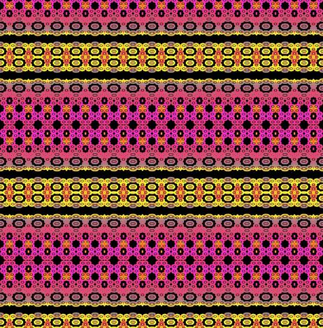 Granny_Square_Fractal-ed fabric by clotilda_warhammer on Spoonflower - custom fabric