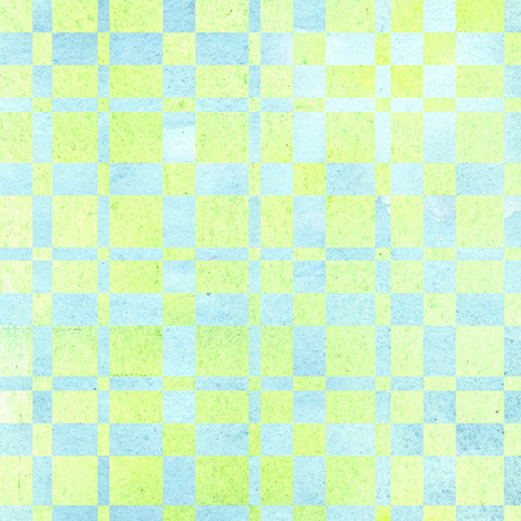 Green Check fabric by countrygarden on Spoonflower - custom fabric