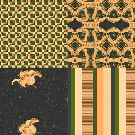November Sampler2 fabric by cricketswool on Spoonflower - custom fabric