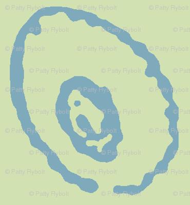 Squid Spots (sea glass green & sea blue)-ch