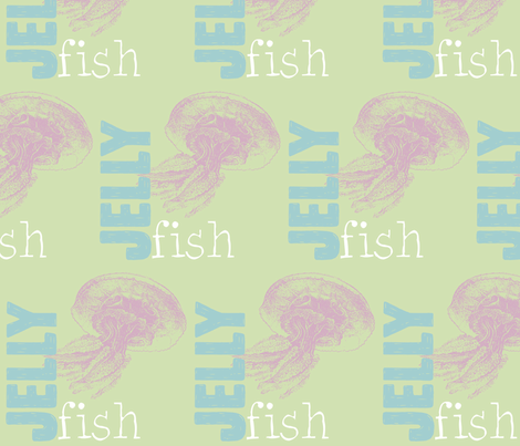 Jellyfish! fabric by pattyryboltdesigns on Spoonflower - custom fabric