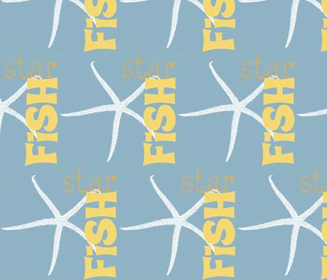 Starfish! fabric by pattyryboltdesigns on Spoonflower - custom fabric