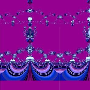 purple little blue  black