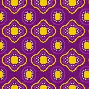 Mauve Yellow Mosaic