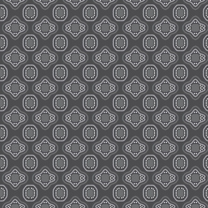 Charcoal Grey Mosaic