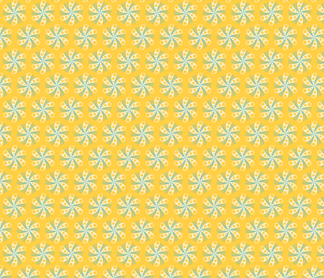 mints yellow fabric by myracle on Spoonflower - custom fabric