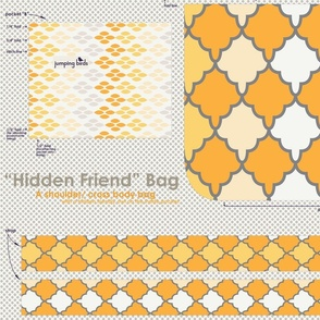 """Hidden Friend"" Bag - sunshine"