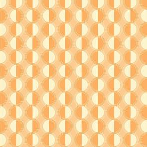 circles retro orange