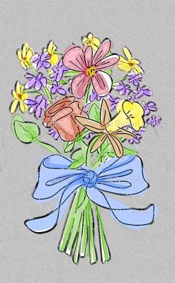 bouquet-grey