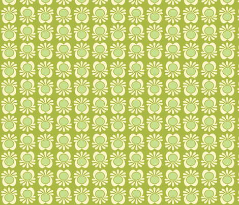 under the sea green fabric by myracle on Spoonflower - custom fabric