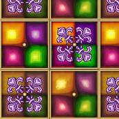 Fleur de Lis Violet