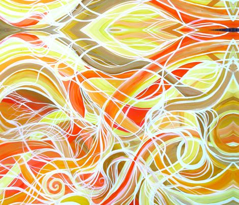 solar_flair_III_good fabric by heatherpeterman on Spoonflower - custom fabric