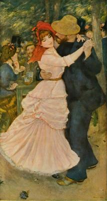 Pierre-Auguste Renoir's Dance at Bougival 1883