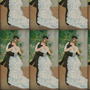 Pierre-Auguste Renoir's Dance in the Town 1883