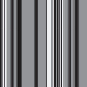 Charcoal Grey Stripe