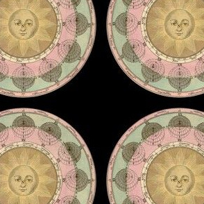 Astronomy Sun and Seasons Print