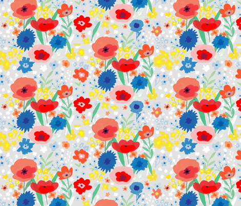 Meadow fabric by easy_boy_check on Spoonflower - custom fabric