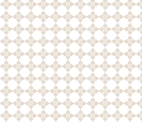 Rockette - White fabric by leahvanlutz on Spoonflower - custom fabric