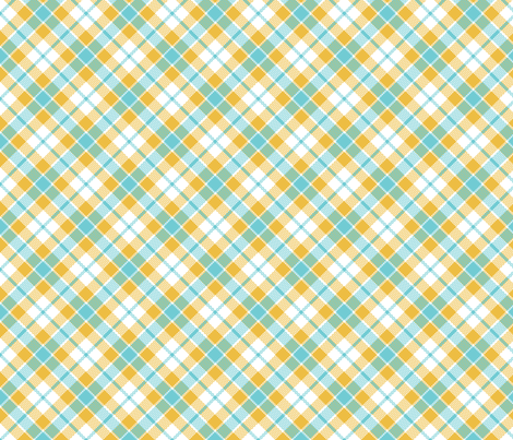 keep calm plaid fabric by minimiel on Spoonflower - custom fabric