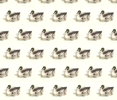 The Whistler Bird - Birds / Ducks & Geese (Goose) fabric by zephyrus_books on Spoonflower - custom fabric