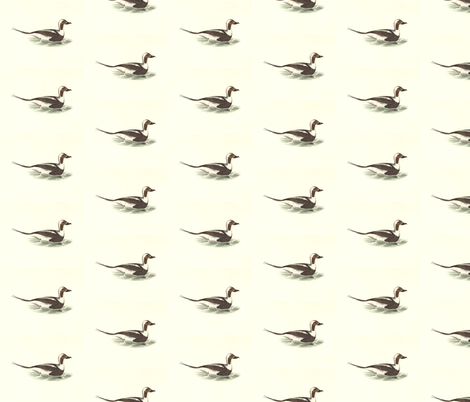 The Oldwife Bird - Birds / Ducks & Geese (Goose) fabric by zephyrus_books on Spoonflower - custom fabric